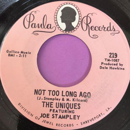 Uniques feat Joe Stampley-Not too long ago-Paula E+
