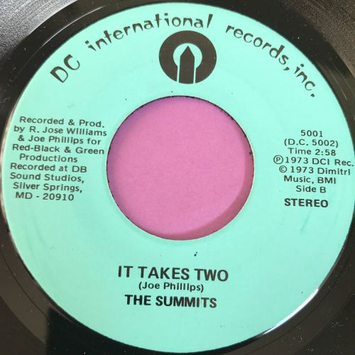 Summits-It takes two-DC Int. E+