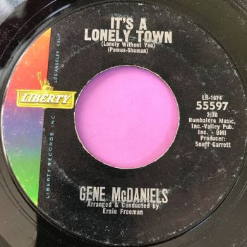 Gene McDaniels-It's a lonely town-Liberty E+