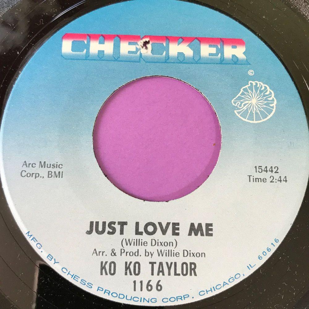 Ko Ko Taylor-Just love me-Checker E+