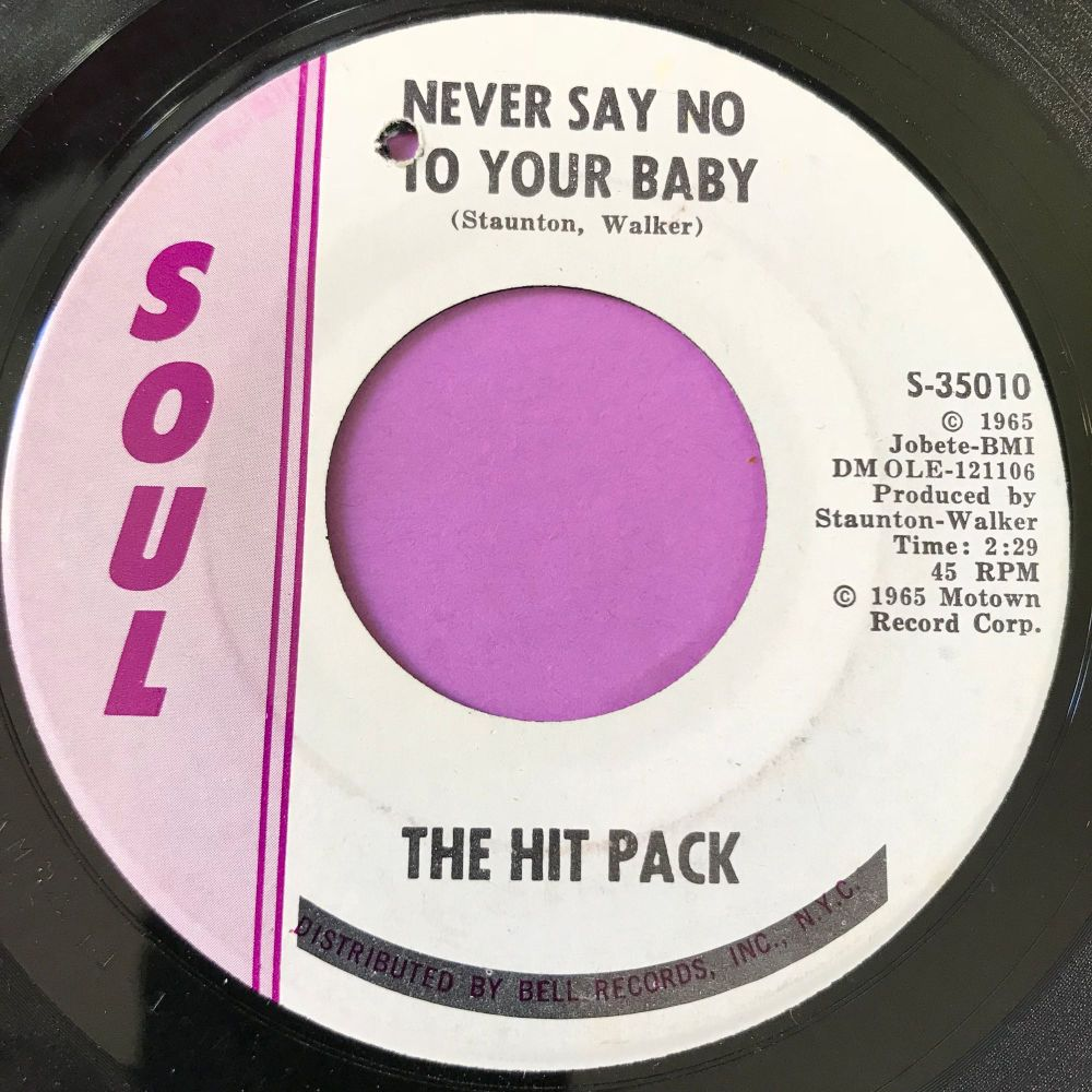 Hit Pack-Never say no to your baby-Soul E