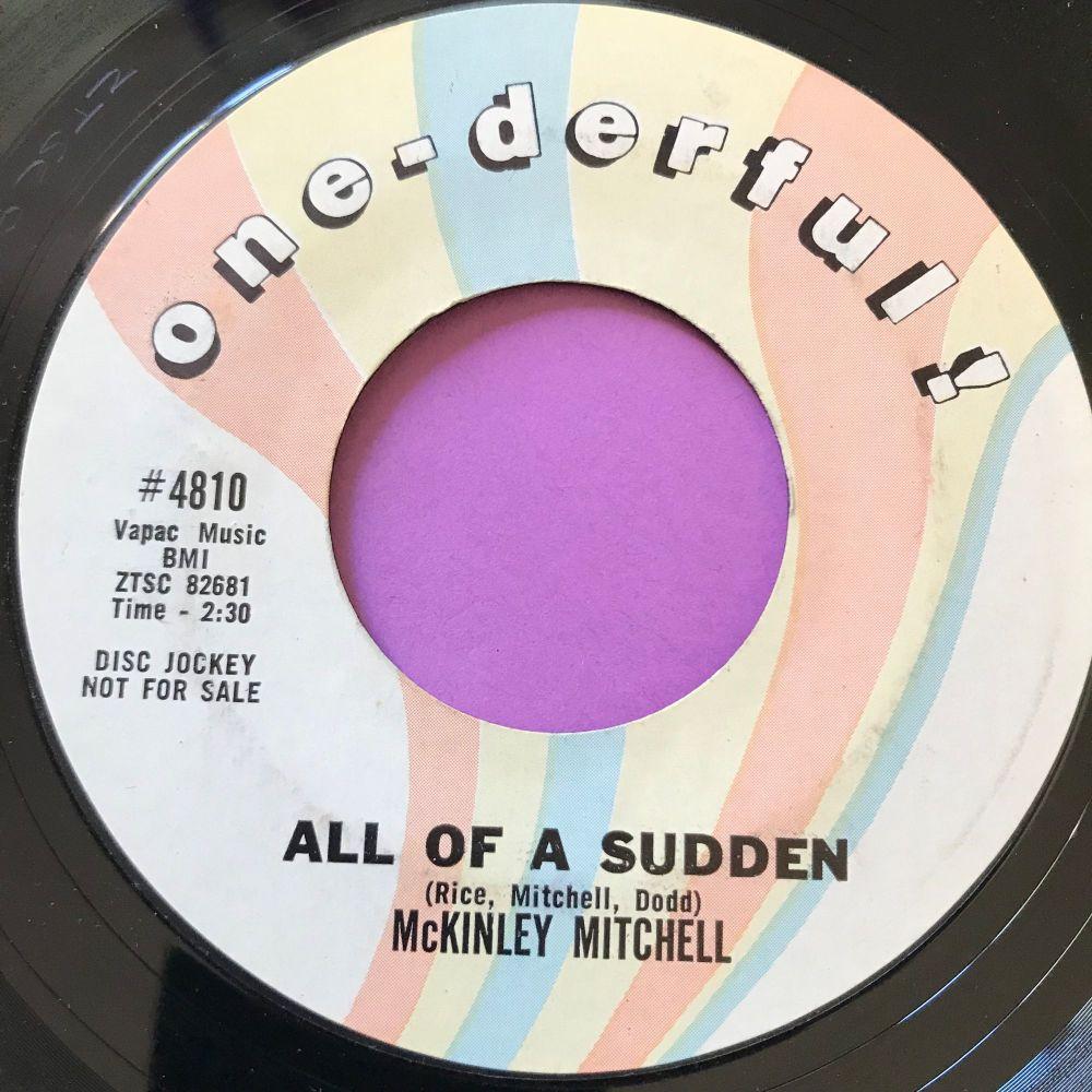 McKinley Mitchell-All of a sudden-One-derful E+