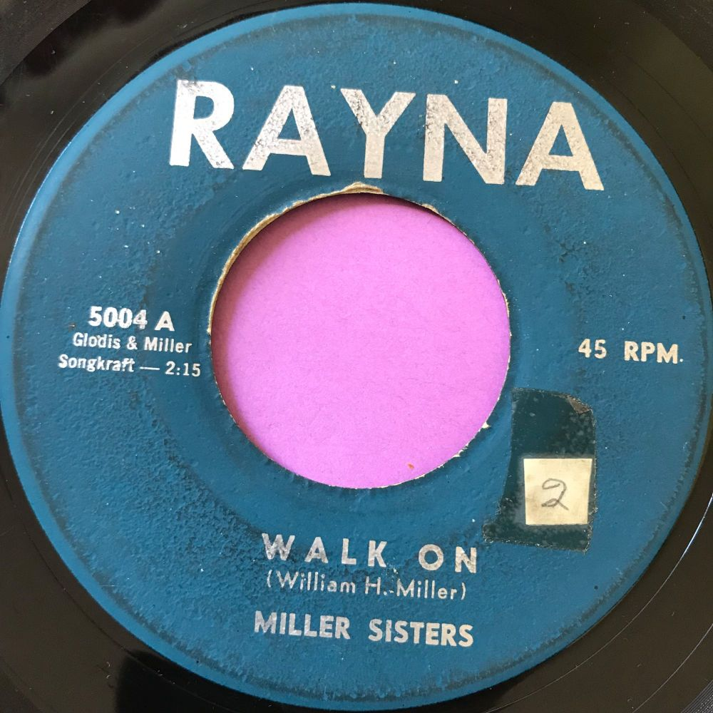 Miller Sisters-Walk on-Rayna vg+