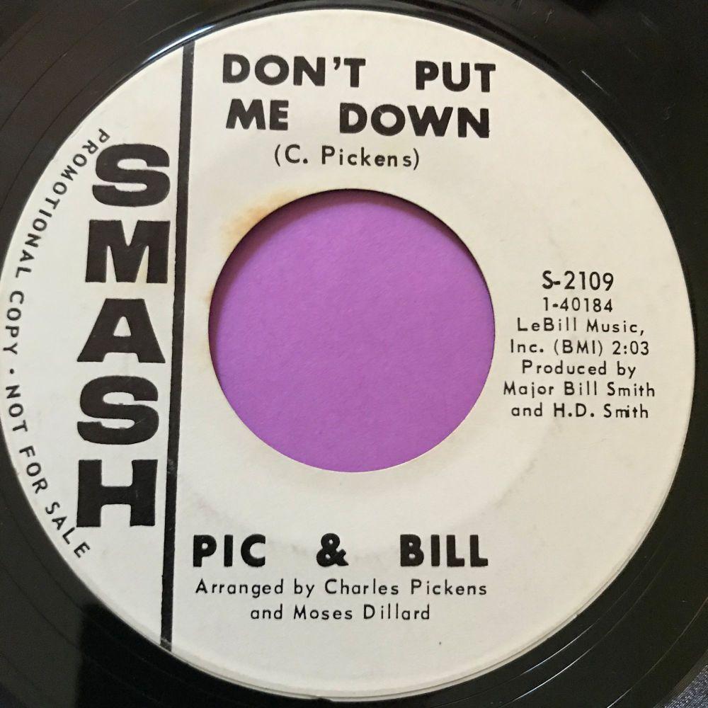 Pic & Bill-Don't put me down-Smash WD E+