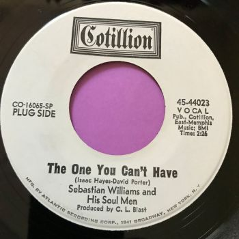 Sebastian Williams-The one you can't have-Cotillion WD E+
