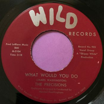 Precisions-What would you do-Wild E+