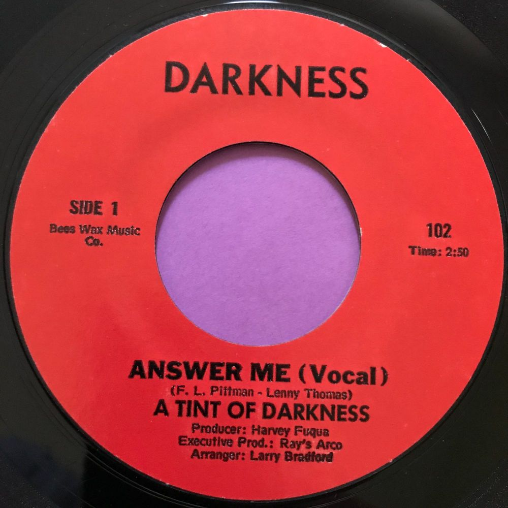 Tint of Darkness-Answer me-Darkness E
