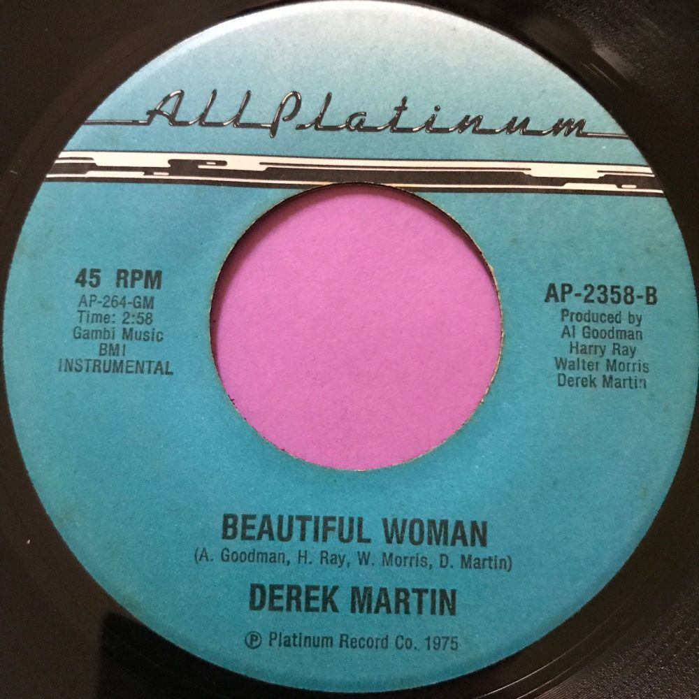 Derek Martin-Beautiful woman-All Platinum E+