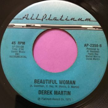 Derek Martin-Beautiful woman-All Platinum E