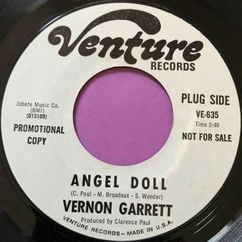 Vernon Garrett-Angel doll-Venture WD E+