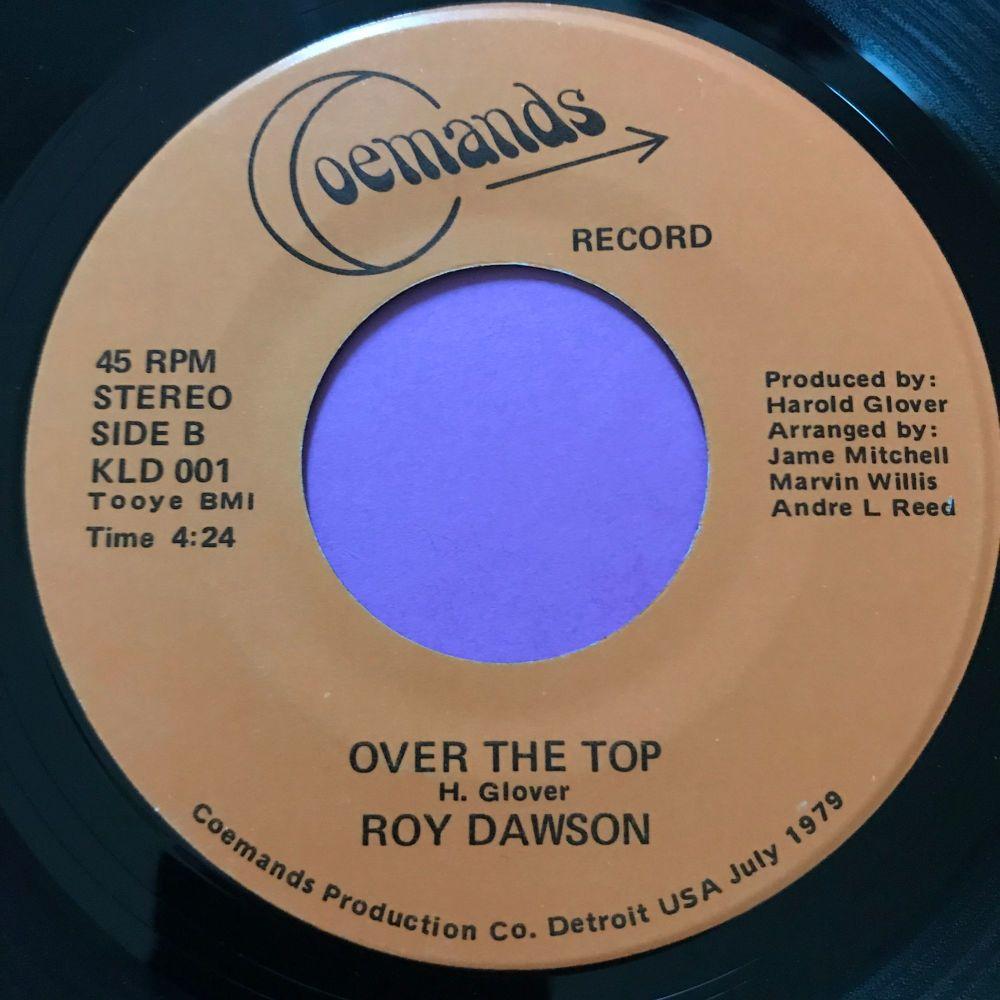 Roy Dawson-Over the top-Coemands E+