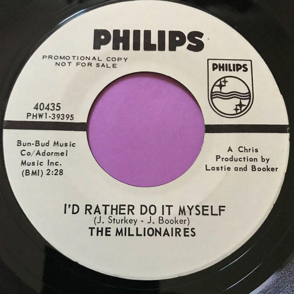 Millionaires-I'd rather do it myself-Phillips WD E+