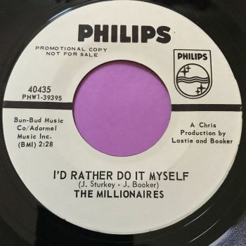 Millionaires-I'd rather do it myself-Phillips WD E+