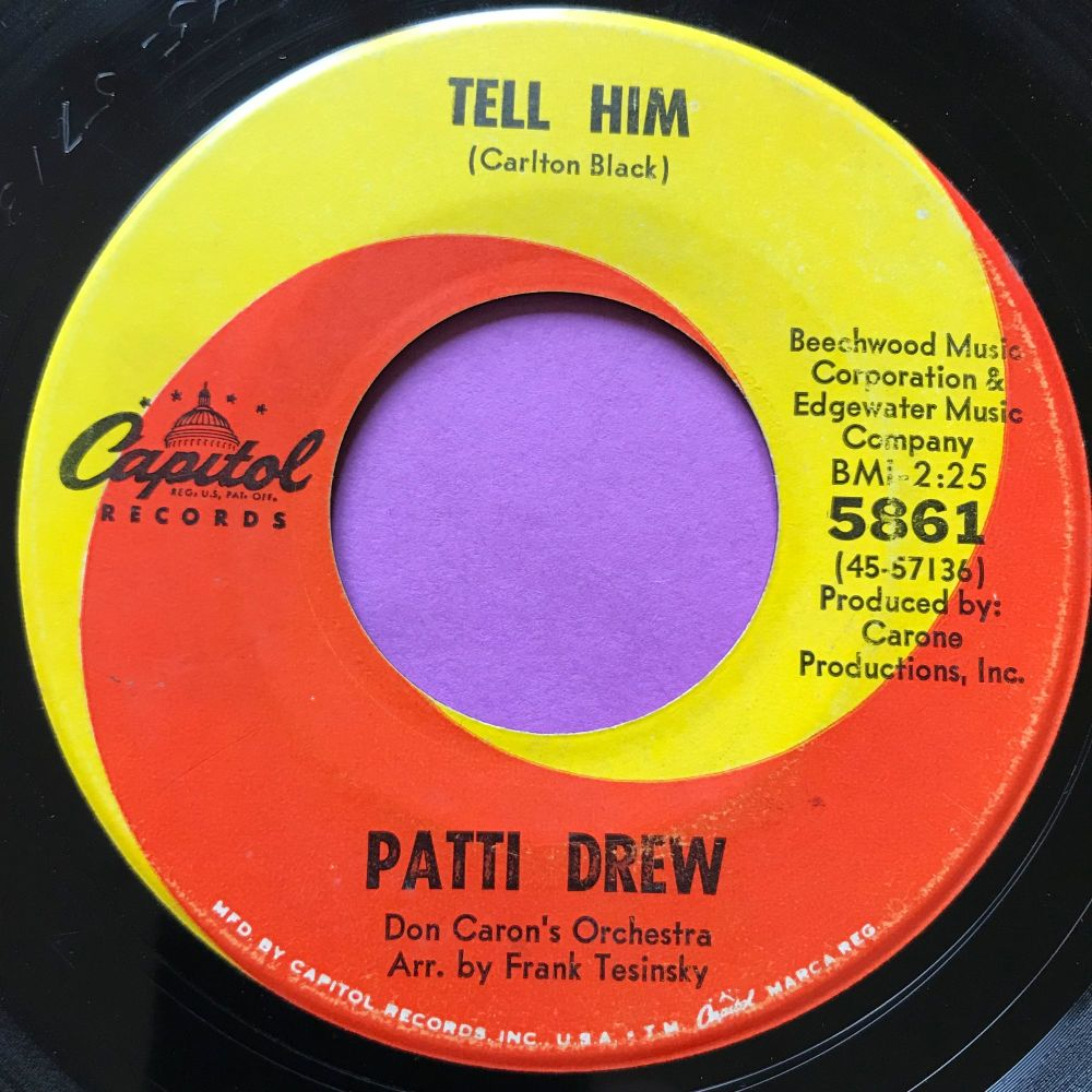 Patti Drew-Tell him-Capitol E+