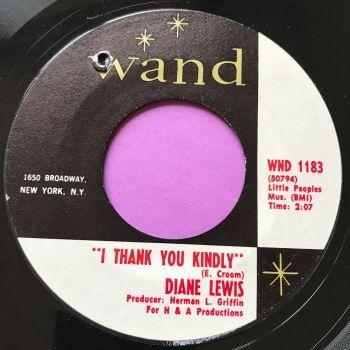 Diane Lewis-I thank you kindly-Wand E+