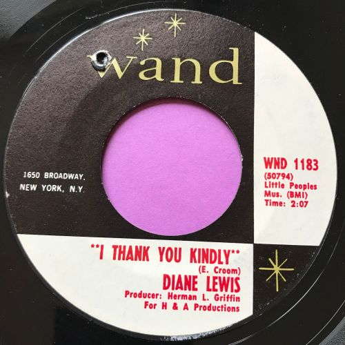 Diane Lewis-I thank you kindly-Wand E+