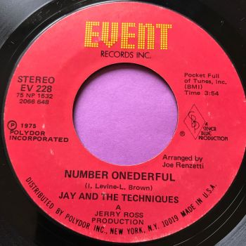 Jay and the Techniques-Number onderful-Event E+