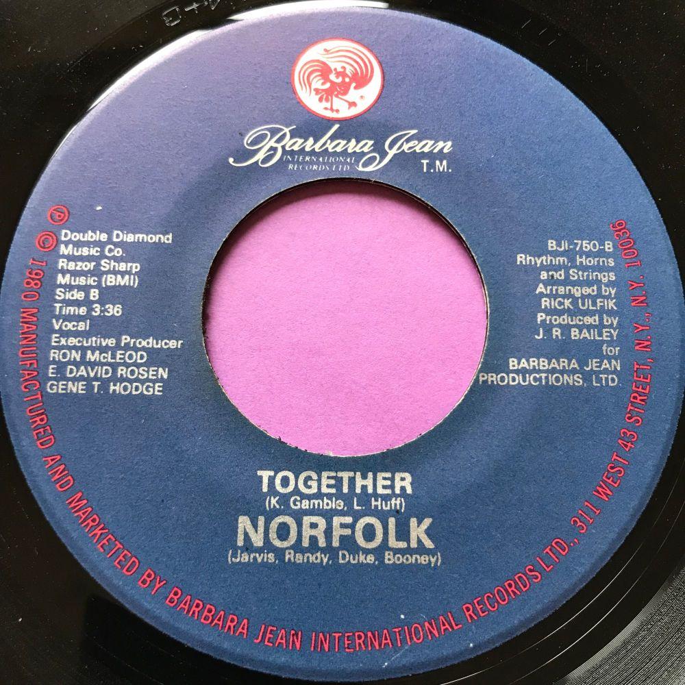 Norfolk-Together-Barbara Jean E+
