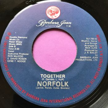 Norfolk-Together-Barbara Jean E+