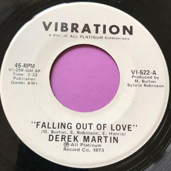 Derek Martin-Falling out of love-Vibration WD E+