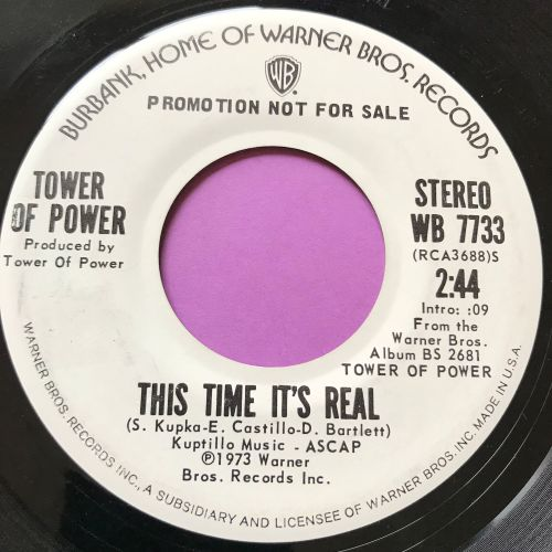 Tower of power-This time it's real-WB WD E+