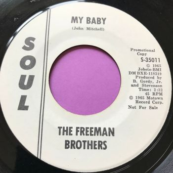 Freeman Brothers-My baby-Soul WD E+