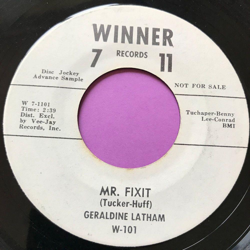 Geraldine Latham-Mr Fixit-Winner 7-11 E+