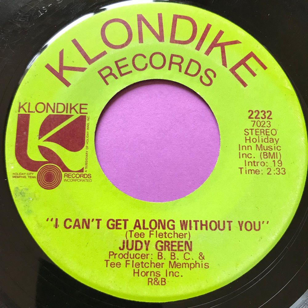 Judy Green-Can't get along without you-Klondike E