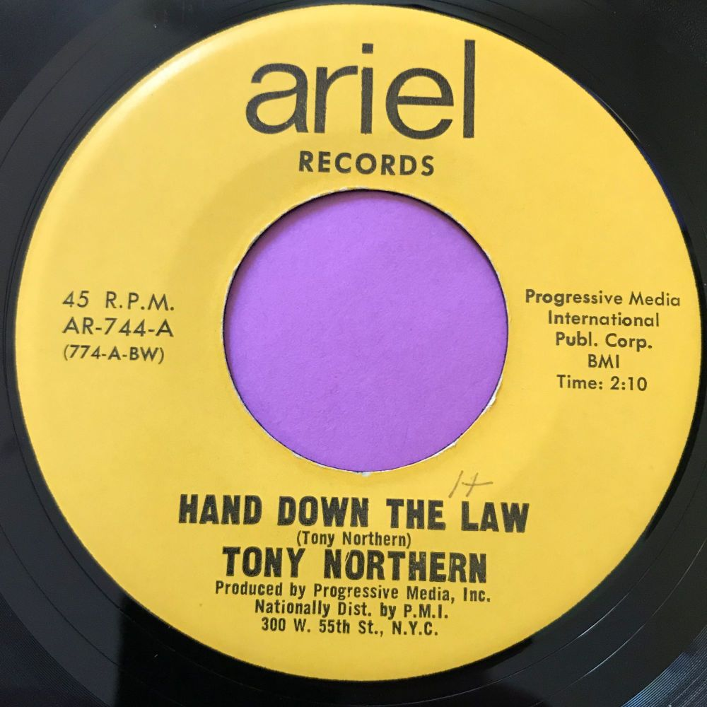 Tony Northern-Hand down the law-Ariel E+
