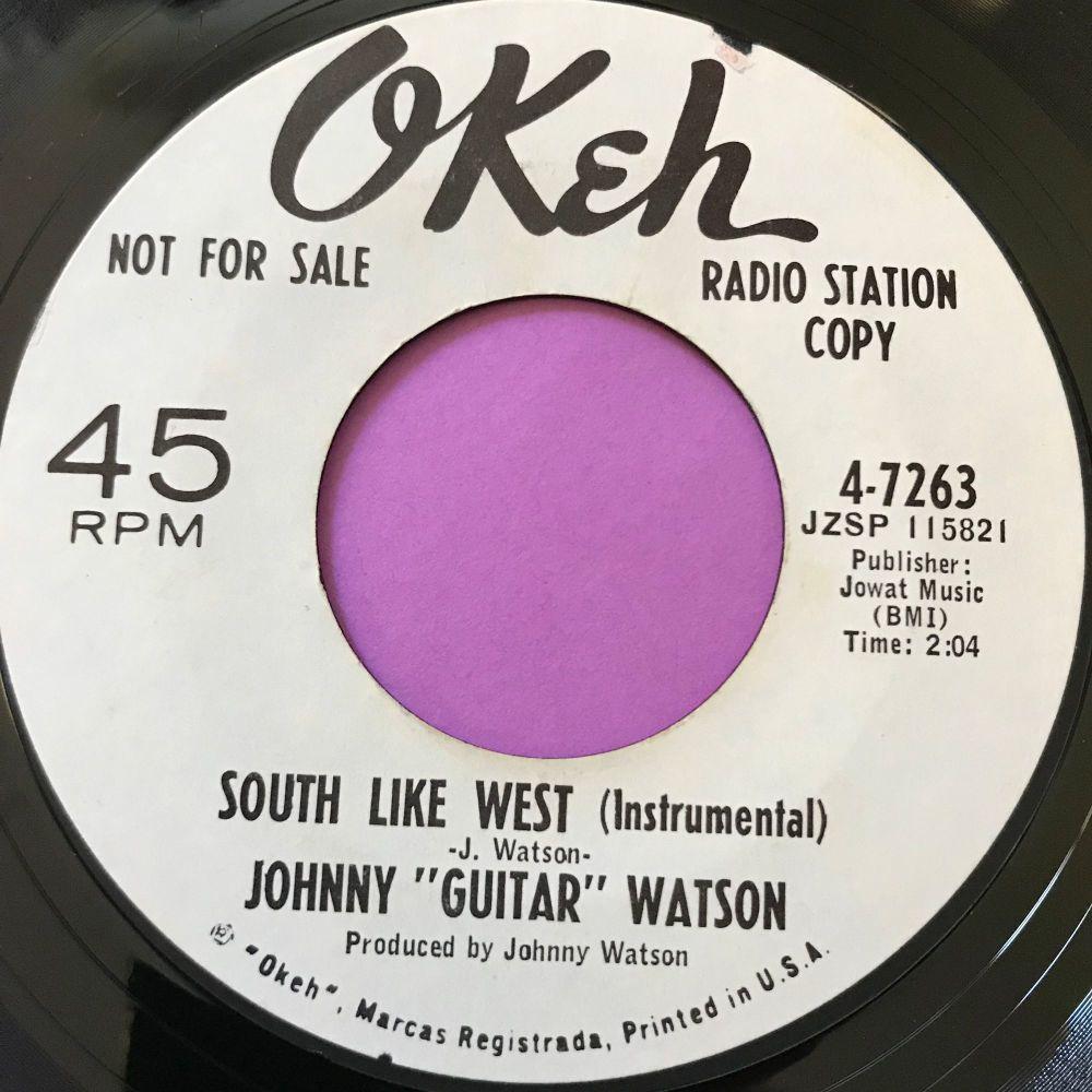 Johnny Guitar Watson-South like west-Okeh WD E+