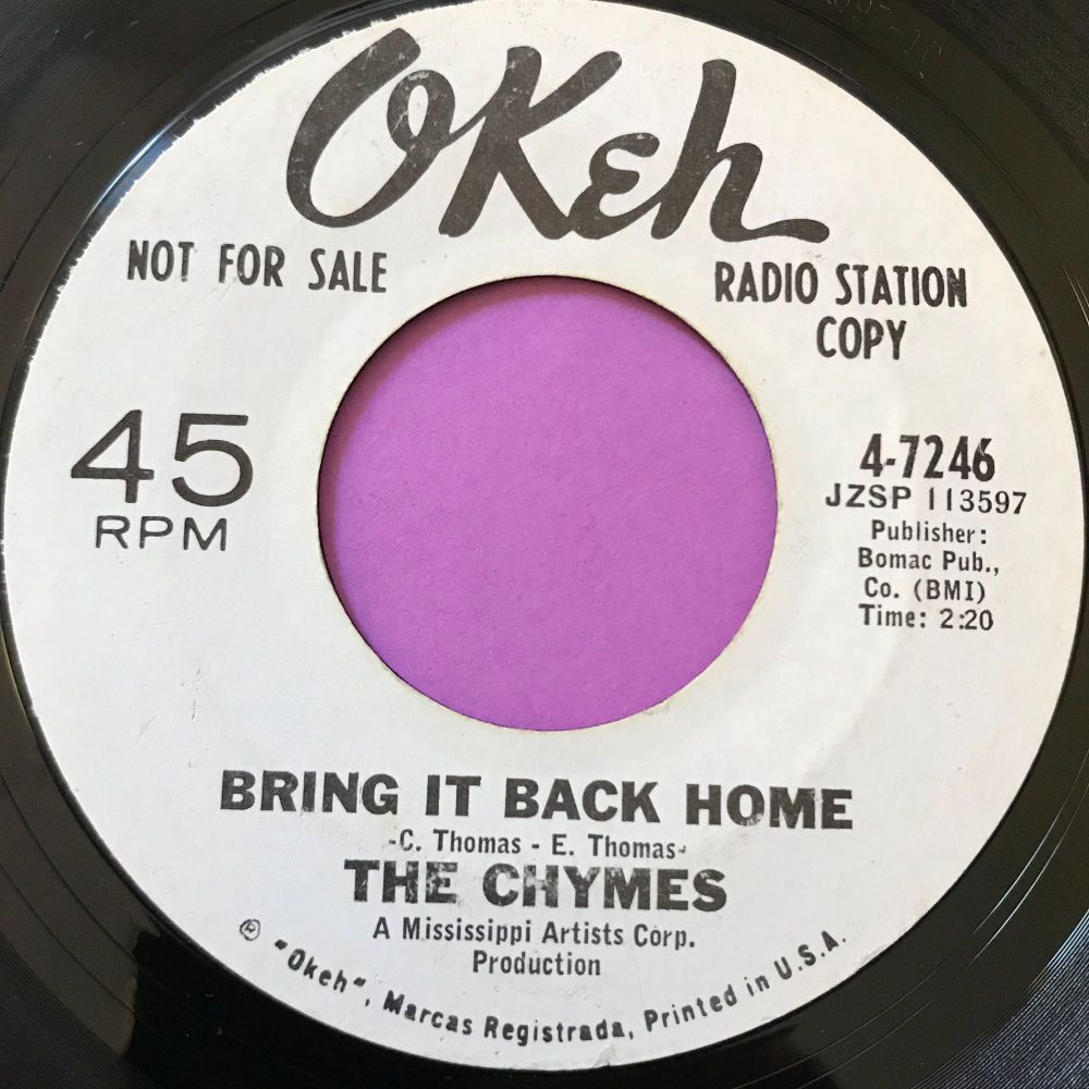 Chymes-Bring it back home-Okeh WD E+