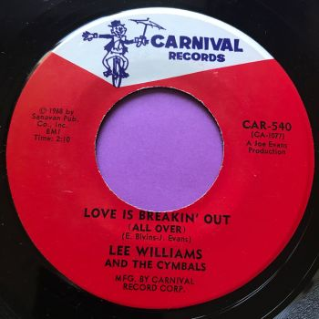 Lee Williams-Love is breaking out-Carnival E+