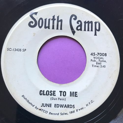June Edwards-You ain't woman enough-South Camp WD vg+