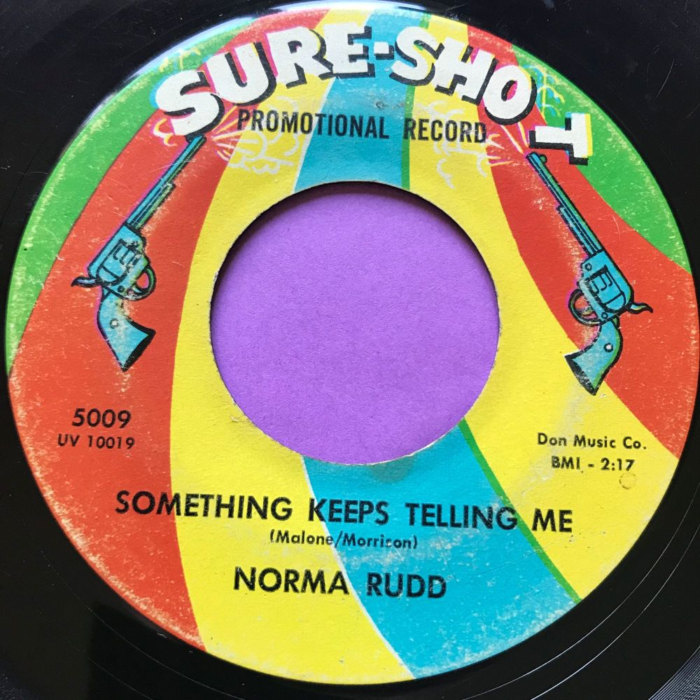 Norma Rudd-Something keeps telling me-Sure shot vg+