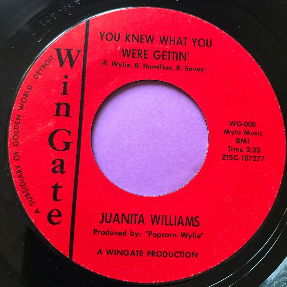 Juanita Williams-Somethings you never get used to-Wingate E+