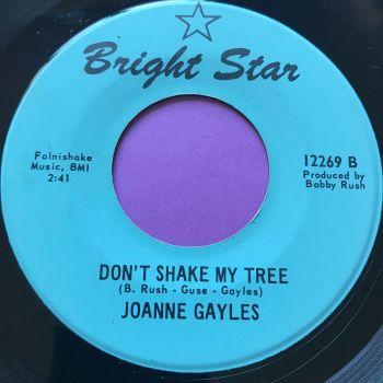 Joanne Gayles-Don't shake my tree-Bright star M-