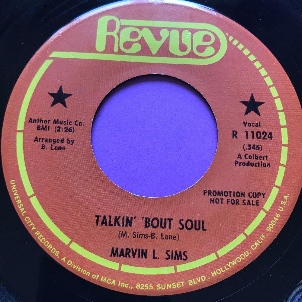 Marvin L Sims-Talkin' bout soul-revue E+