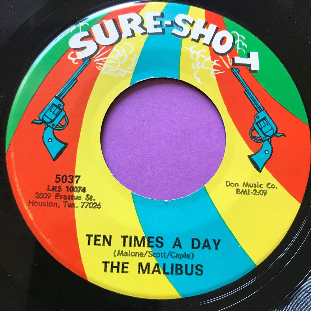 Malibus-Ten times a day-Sure shot E+