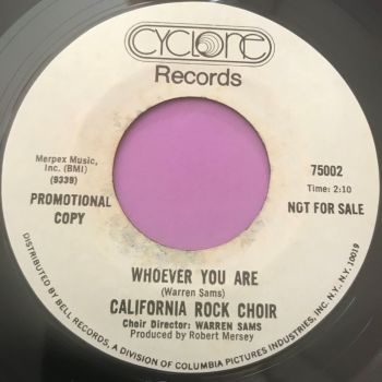 California Rock Choir-Whoever you are-Cyclone WD E