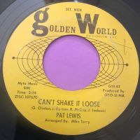 Pat Lewis-Can't shake it loose-Golden world E