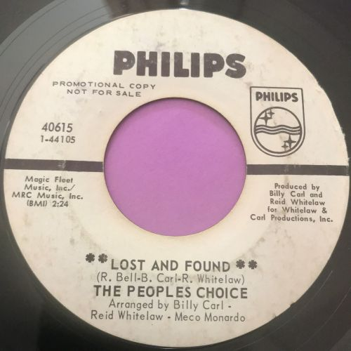 People's Choice-Lost and found-Phillips WD E