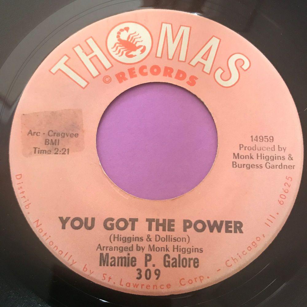 Mamie P. Galore-You got the power-Thomas stkr E+