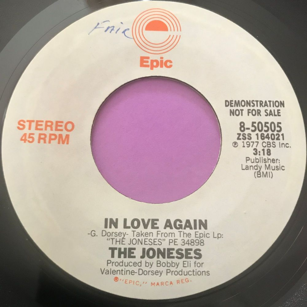 Joneses-In love again-Epic Demo E