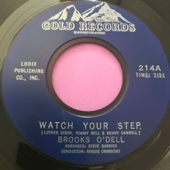 Brooks O'Dell-Watch your step-Gold E