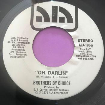 Brothers by Choice-Oh Darlin'-Ala E