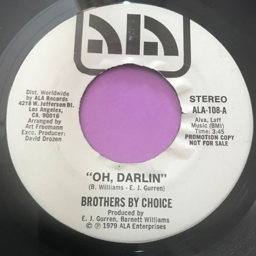 Brothers by Choice-Oh Darlin'-Ala E