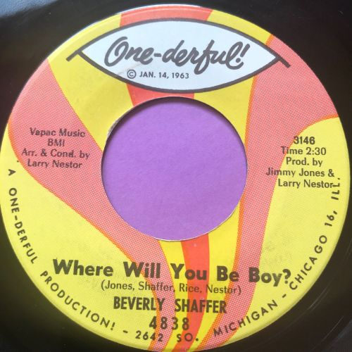 Beverly Shaffer-Where will you be boy-One-derful E+
