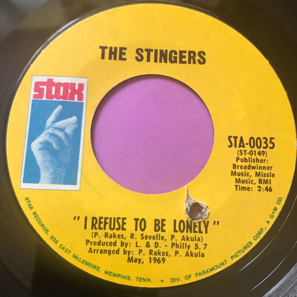 Stingers-I refuse to be lonely-Stax E+