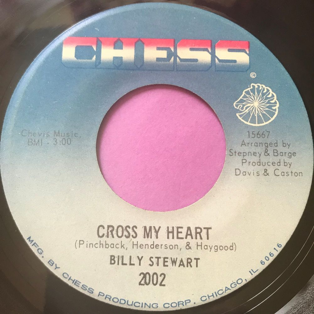 Billy Stewart-Cross my heart-Chess E+