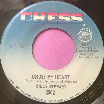 Billy Stewart-Cross my heart-Chess E+